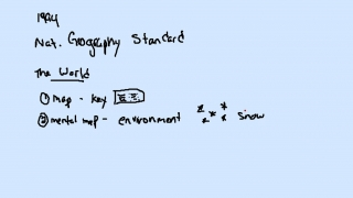 National Geography Standards I