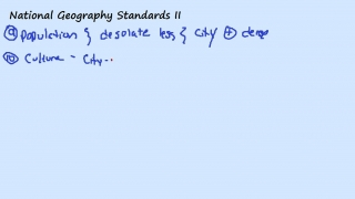 National Geography Standards II