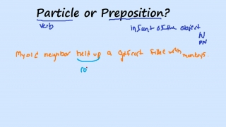 Particle or Preposition?