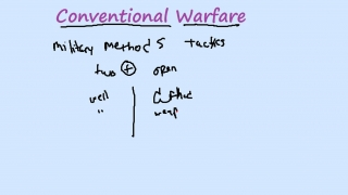 Conventional Warfare