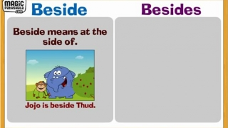 Problem Prepositions: Beside and Besides