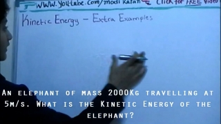 Kinetic Energy Extra Examples