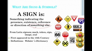Sociology Lesson 4- Signs and Symbols