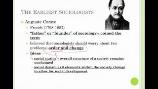 Sociology Lesson 2- Sociological Perspectives