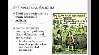 Sociology Lesson 18- Types of Societies
