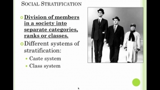 Sociology Lesson 23- Systems of Stratification