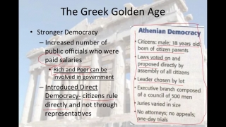 World History Lesson 10- Greece's Golden Age