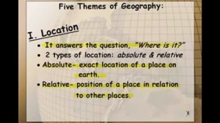▶ 5 Themes of Geography Part 1