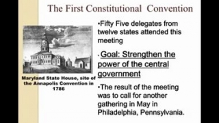 ▶ The Constitutional Convention