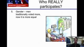 U.S Government Lesson 7- Political Participation
