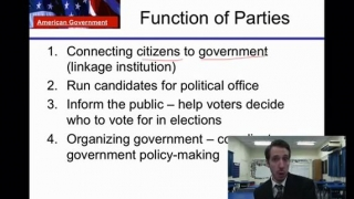 U.S Government Lesson 9- Political Parties