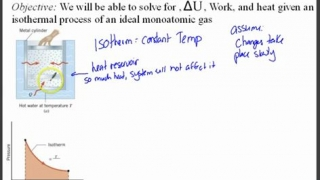 Thermodynamics 15 - Isothermal Process