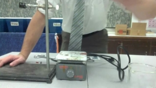 Boiling Water Lab Setup