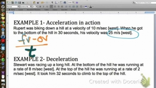 How Do I Calculate Acceleration?