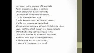 Shakespeare - Sonnet 116