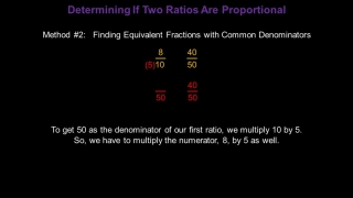 Identifying and Writing Proportions: Konst Math