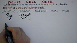Reacting Mass Calculation Series 5 No8.