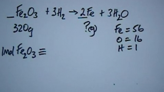 Reacting Mass Calculations Series 4 No2. (Low)