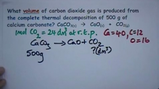 Reacting Mass Calculations Series 4 No3.