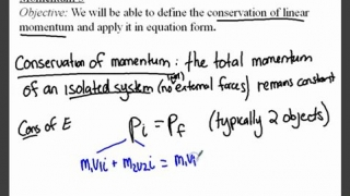Momentum 3 - Conservation of Linear Momentum