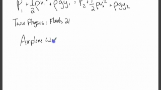 Russo Physics_ Fluids 9 - Bernoulli's Principle #2