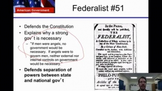U.S Government Lesson 5- Federalism