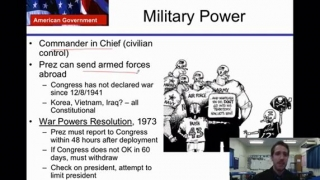 U.S Government Lesson 18- The Presidency Part 1