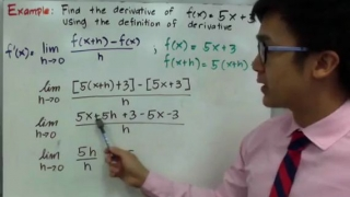 Definition of Derivatives