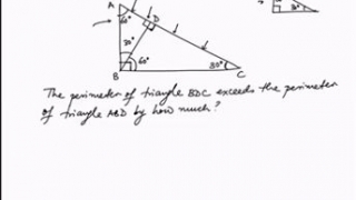 Beat the SAT 800 30 60 90 triangle - Solved Examples