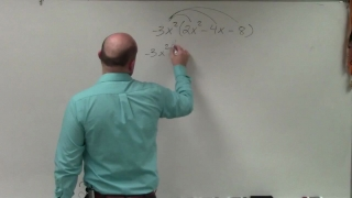 Learn how to easily multiply a monomial by a trinomial