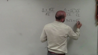 Rationalizing the denominator with the cube root of a number