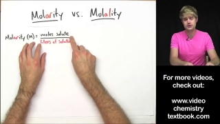 Whats the Difference Between Molarity and Molality