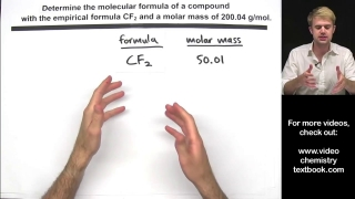 Calculating Molecular Formula from Empirical Formula