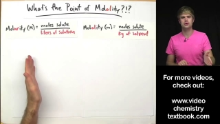 Whats the Point of Molality!