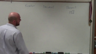 Writing a percent as a decimal and as a fraction
