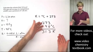 Ideal Gas Law Practice Problems with Molar Mass