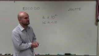 Learn how to write numbers in scientific notation