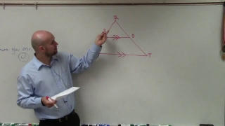 SAT Prep How to determine the perimeter of a triangle using similar triangles