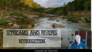 Streams and Rivers Intro 1 - Aquatic Science with Dr. Rudy Rosen 8.2