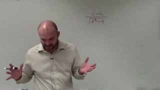 Learn how to rationalize the denominator when your radicand is a binomial