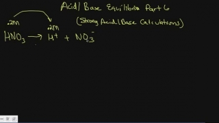 stong acid base calculations