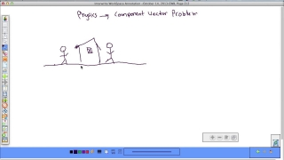 Forces Physics Component Vectors Problem 2